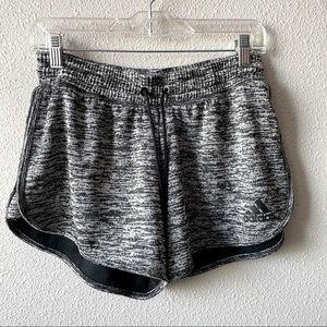 Adidas Women's Running Shorts Heathered Space Dye
